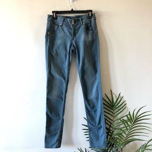 Hudson Straight Leg Blue Jeans Size 27